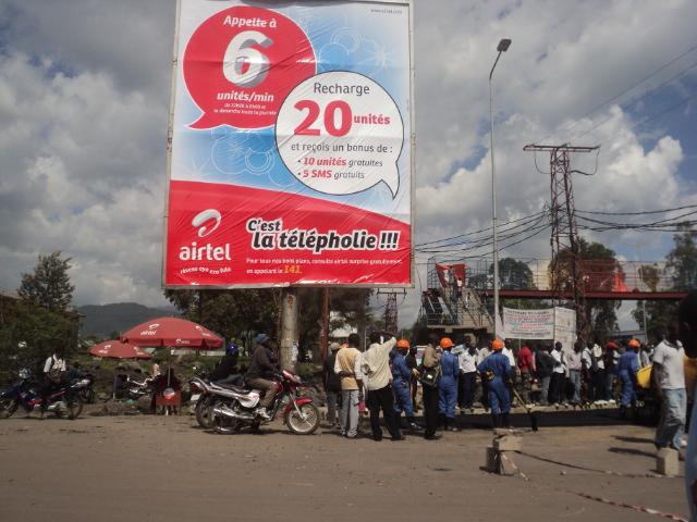 Perturbation et interférence du réseau Airtel en République Démocratique du Congo