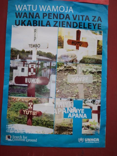 Deux organisations non gouvernementales   internationales UNCHR et Search for Common Ground se  lavent les mains dans  des conflits armés et interethniques  de l'Est de la RDC