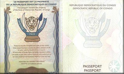 Google, image passeport congolais